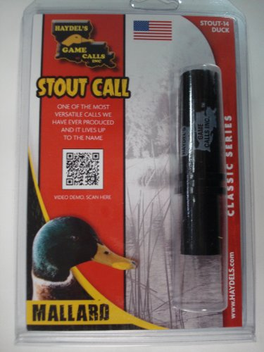 Stout Call ~ Mallard Duck Hunting Call ~ Haydel's