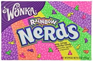 Wonka Rainbow Nerds, 6-Ounce Packages (Pack of 12)