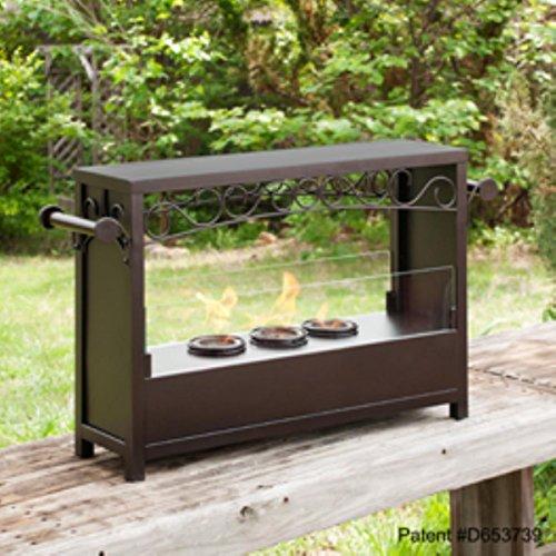SEI AMZ1485 Acosta Portable Indoor/Outdoor Fireplace