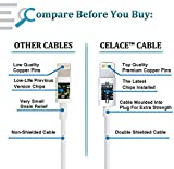 Celace Lightning USB Data Cable Cord - 3.2-Feet (1-Meter) for Apple Products, 4 Packs