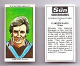 Sun SOCCERCARD No 371 - Burnley IAN BRENNAN collectable football card
