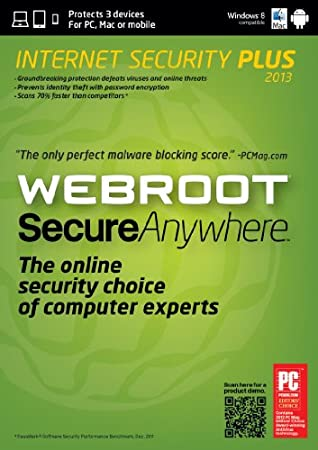 Webroot SecureAnywhere Internet Security Plus 3 Device for Mac 2013 [Download]
