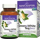 New Chapter Green & White Tea Force Capsules, 60-Count Bottle Image