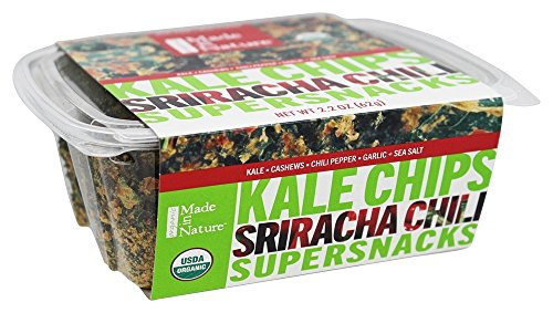 Made in Nature - Organic Kale Chips Sriracha Chili - 2.2 oz. (Chilis Chips compare prices)