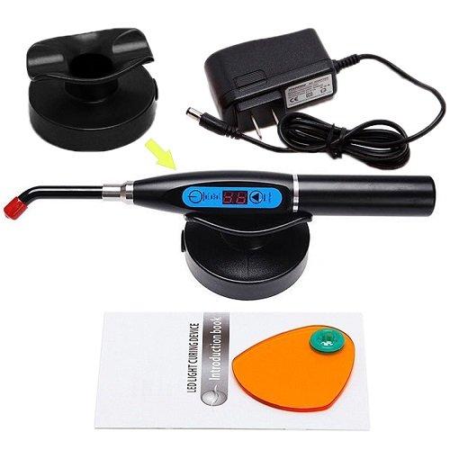 Hotenergy New Dentist Dental 10W Wireless Cordless Led Curing Light Lamp 2000Mw