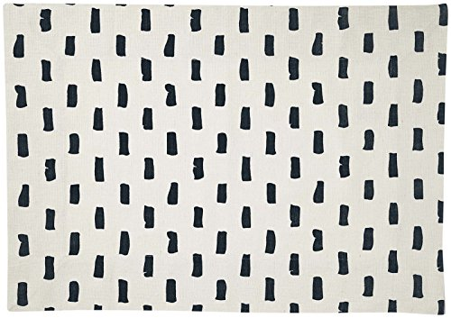 Pehr Designs Bloc Placemat, Navy (Set of 2)