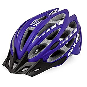 Rainbow flower Bicycle helmet Integrally molded helmet riding helmet mountain bike riding equipment