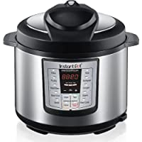 Instant Pot Lux60 6-in-1 Programmable Electric Pressure Cooker with Stainless Steel Cooking Pot and Exterior, 6 Litre, 1000 W