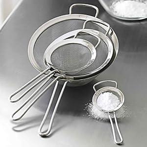 Chefs mesh food strainer set chefs strainers - Utensilios de chef ...