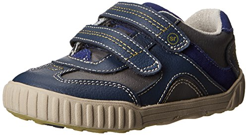 Infant Boy's Stride Rite 'SRT Gilmore' Sneaker Grey/ Navy 4