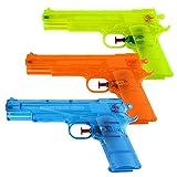 S/O 12 Pack pistola de agua clásico aprox 23 cm pistolas de agua pistola de agua Water Gun pistola de agua rifles rifle (0314)