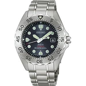 [セイコー]SEIKO 腕時計 PROSPEX プロスペックス ダイバースキューバ チタン ソーラー 逆回転防止ベゼル ブラック SBDN001 メンズ