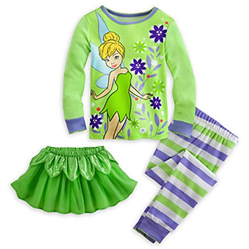 Tinkerbell Pajamas For Toddler Girls Christmas Gifts For