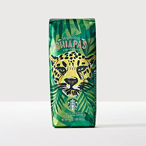 Starbucks México Chiapas, Whole Bean 1 lb (Whole Bean Coffee 1lb compare prices)