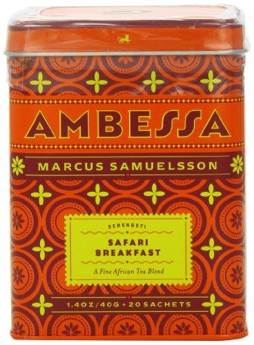 Harney & Sons Ambessa Safari Breakfast Tea, 20 Tea Sachets