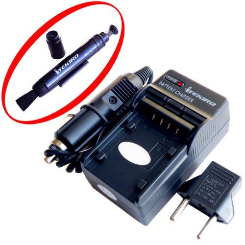 iTEKIRO AC Wall DC Car Battery Charger Kit for Samsung VP-D230i   iTEKIRO Lens Cleaning Pen
