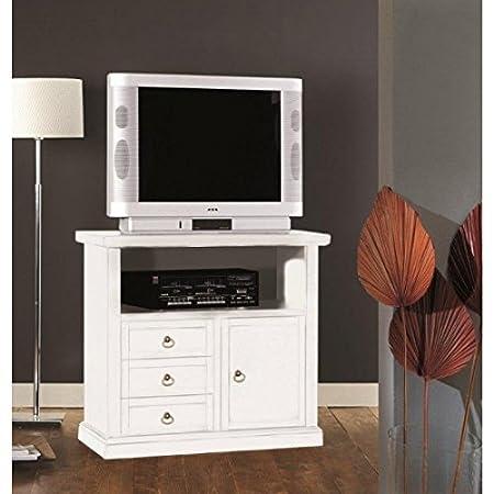 Puerta TV madera blanco mate–codluis 308