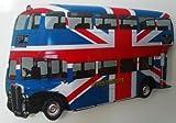 Union Jack London Bus Fridge Magnet - LS12J