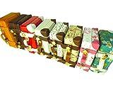 可愛い ドール のお供に!リアルに使える ミニ トランク スーツケース バッグ カバン SD DD ブライス リカちゃん バービー ジェニー