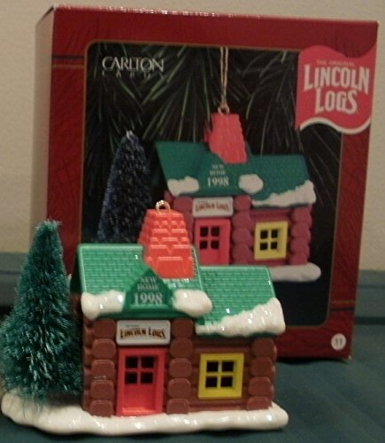Carlton Heirloom Collection The Original Lincoln Logs New Home - 1998