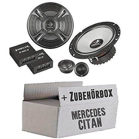 Mercedes Citan - Helix - B 62C.2 - 16cm 2-Wege Lautsprecher System - Einbauset