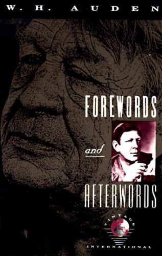Forewords and Afterwords