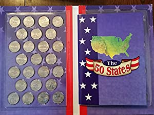 1999-2008 P Complete UNC State Quarter 50-Coin Set