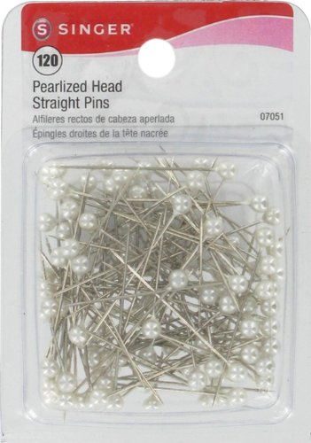 Review Of Singer Pearlized Ball Head Straight Pins, 120-Count