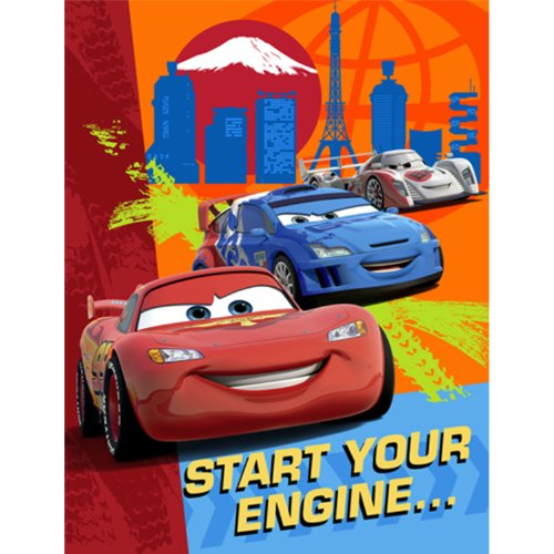 HALLMARK MARKETING CORP. Cars 2 Party Invitations