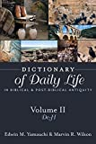 img - for Dictionary of Daily Life in Biblical and Post-Biblical Antiquity: de - H book / textbook / text book