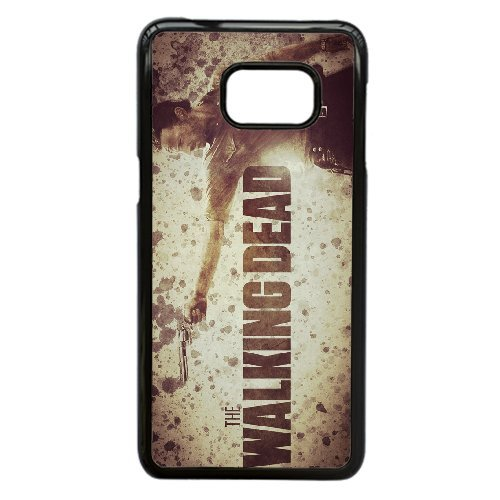 Personalised Samsung Galaxy Note 5 Edge Full Wrap Printed Plastic Phone Case The Walking Dead