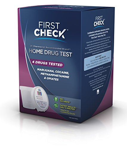 First Check Home 4 Drug Test, 1 Ct Health Beauty Health