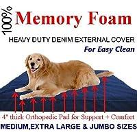 Memory Foam Pad Pet Bed