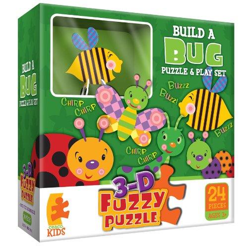 Build A Bug Fuzzy  Jigsaw Puzzle