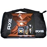Axe - Coffret Eau de toilette 100 ml + Déodorant 150 ml + Gel douche 250 ml + Sacoche Netbook - Tablette - Dark Temptation