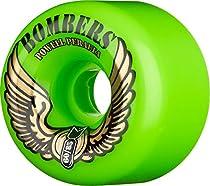 Powell Bomber III 85a 60mm Green Skateboard Wheels (Set Of 4)