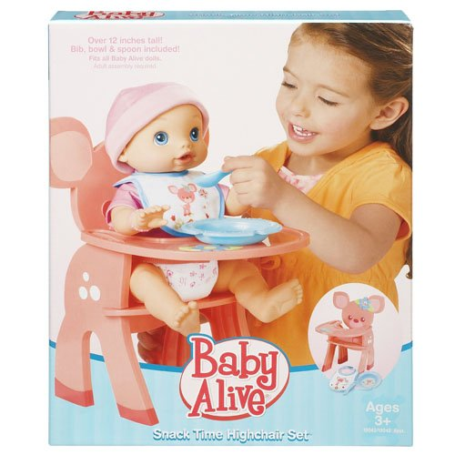Baby Alive Feature Accessory Snack Time High Chair 2009