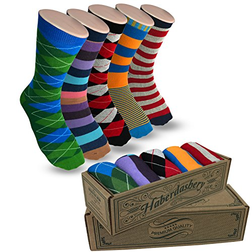 Men's Socks Hipster Power Socks 5 Pairs of Sox Per Box Mens Socks Fun Jefe Collection