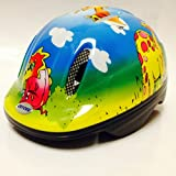 OXFORD KIDDIES DINOSAUR CYCLE HELMET 48-52cm FOR OUTSTANDING PROTECTION