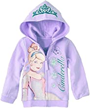 Girls Cartoon Fairy Tale Cinderella Princess Hoodie Sweater Jacket Outerwear Coat
