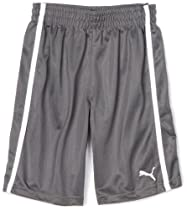 PUMA - Kids Boys 2-7 Little Dazzle Short, Grey, 4