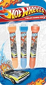 Anker Hotwheels Roller Stamper Pens (Pack of 3)