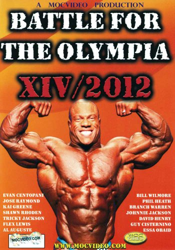 Battle for the Olympia 2012: Bodybuilding [DVD] [Import]