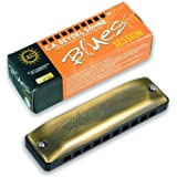 SEYDEL BLUES SESSION ANTIQUE! C-Major! - Made in Germany by the world's oldest harmonica manufacturer!