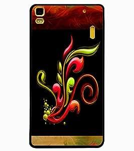 ColourCraft Printed Design Back Case Cover for LENOVO A7000