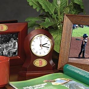 Boston Red Sox Memory Company Desk Clock MLB Baseball Fan Shop Sports Team... by Memory Company