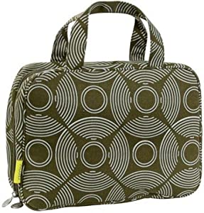 Amy Butler Clara Toiletry Bag,Sun and Moon Sepia,one size
