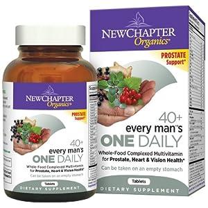 男性维生素海淘:New Chapter 新章每日一粒复合维生素 40岁以上男性推荐