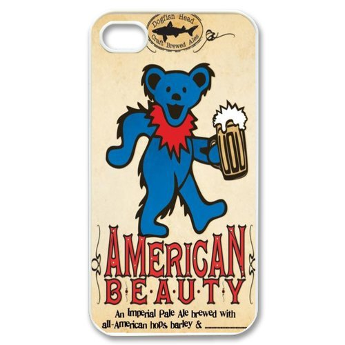 Generic Cell Phones Cover For Apple Iphone 4S Case Iphone 4 Case Customize Music Band Grateful Dead And Dancing Bears Hard Snap On Phone Cases front-912642