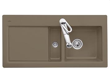 Villeroy & Boch Subway 60Timber Brown Cushion Sink Ceramic Sink